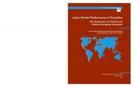 Labor Market Performance in Transition: The Experience of Central ...