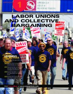 LABOR UNIONS AND COLLECTIVE BARGAINING