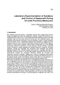 Laboratory Experimentation of Guidance and Control of Spacecraft ...