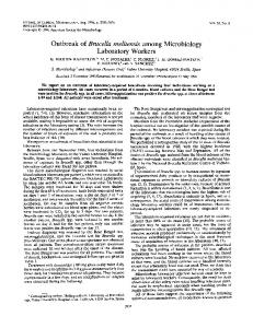Laboratory Workers - Journal of Clinical Microbiology - American ...