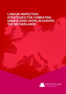labour inspection strategies for combating undeclared work in ... - ILO
