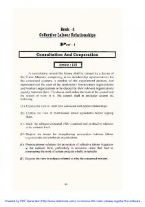 Labour Law 2003 - Bk 4 - Collective Labour Relationships - www ...
