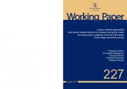 Labour market adjustment and labour market reforms in Greece during ...
