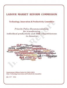labour market reform commission