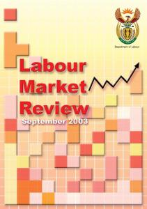 Labour Market Review 2003.pdf - Department of Labour