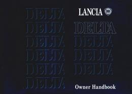 Lancia Delta Owners Manual
