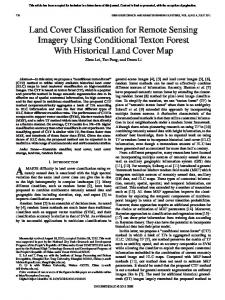Land Cover Classification for Remote Sensing Imagery ... - IEEE Xplore