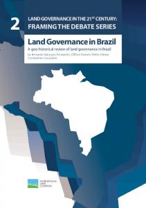 Land Governance in Brazil - Forest Day