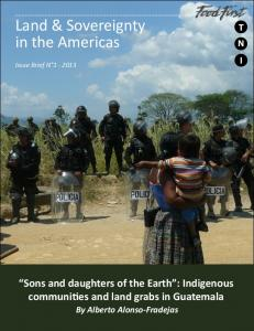 Land & Sovereignty in the Americas - Transnational Institute