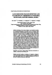 land use/cover change detection and vulnerability assessment in ...