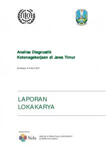 LAPORAN LOKAKARYA - International Labour Organization