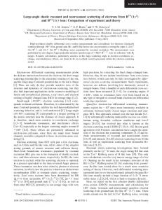 Large-angle elastic resonant and nonresonant scattering of electrons ...