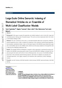 Large-Scale Online Semantic Indexing of