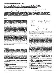 Large-Scale Synthesis of the Glucosylceramide Synthase Inhibitor N