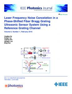 Laser Frequency Noise Cancelation in a Phase-Shifted ... - IEEE Xplore