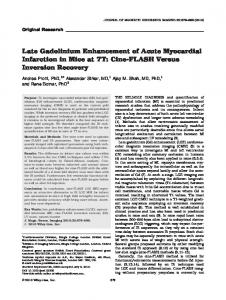 Late gadolinium enhancement of acute ... - Wiley Online Library