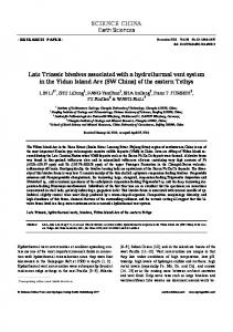 Late Triassic bivalves associated with a hydrothermal vent system in ...