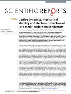 Lattice dynamics, mechanical stability and electronic