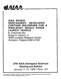 launch vehicle - Department of Computer Science