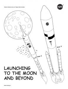 LAUNCHING TO THE MOON AND BEYOND - NASA