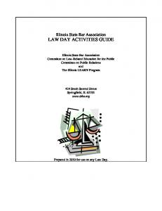 Law-related lessons and activities