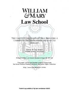 Law School - SSRN papers