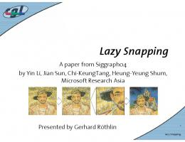 Lazy Snapping