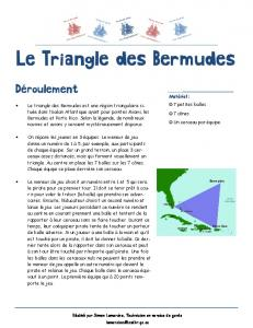 Le Triangle des Bermudes - WordPress.com