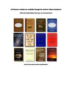 Learn Biblical Hebrew - Ancient Hebrew Research Center
