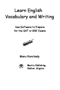Learn English Vocabulary and Writing