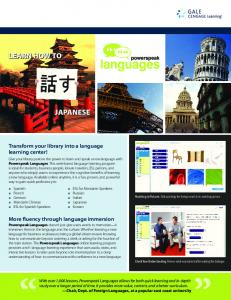 learn how to japanese learn how to japanese - Cengage Learning