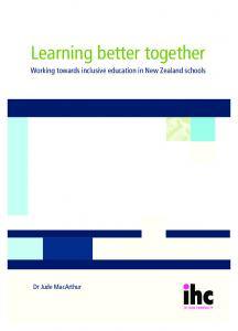 Learning better together - Inclusive - TKI
