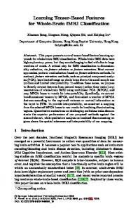 Learning Tensor-Based Features for Whole-Brain fMRI Classification ...