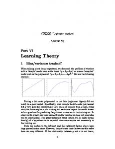 Deep Learning Architecture for Univariate Time Series     - CS 229