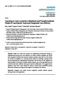 Learning to Learn - MDPI