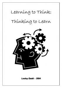 Learning to Think: Thinking to Learn