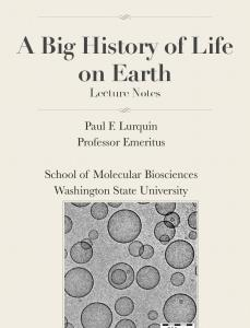 Lecture Notes Paul F. Lurquin Professor Emeritus ...