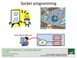 lecture on socket programming