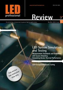 LED System Simulation and Testing