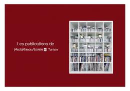 Les publications de