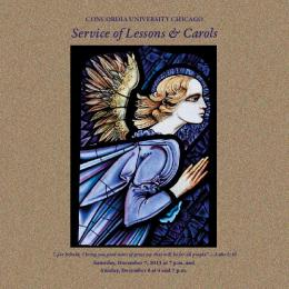 Lessons and Carols - Concordia University Chicago