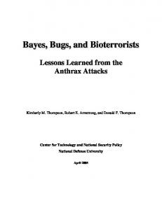 Lessons Learned from the Anthrax Attacks - DTIC