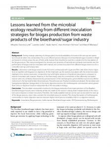 Lessons learned from the microbial ecology
