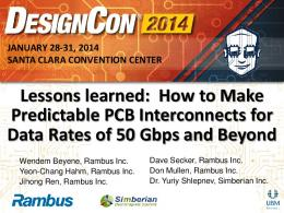 Lessons learned: How to Make Predictable PCB ... - Simberian