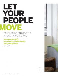 Let Your People Move - Jane Langille