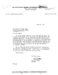 LETTER TO MR. ALLEN W. DULLES FROM PHILIP K. HITTI