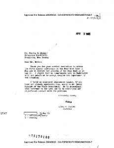 LETTER TO MR. PHILIP K. HITTI FROM ALLEN W ... - CIA FOIA