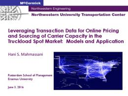 Leveraging Transaction Data for Online Pricing and