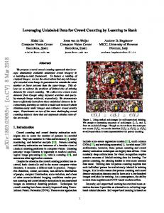 Leveraging Unlabeled Data for Crowd Counting by Learning to Rank