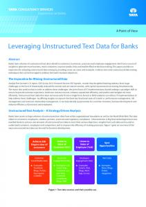 Leveraging Unstructured Text Data for Banks The Imperative for ...